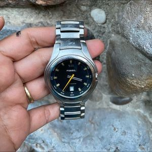 Mens Fossil Blue  Watch - Works great